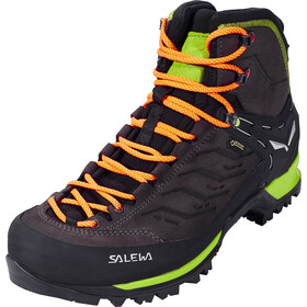 SALEWA MTN Trainer Mid GTX Shoes Herren black/sulphur spring